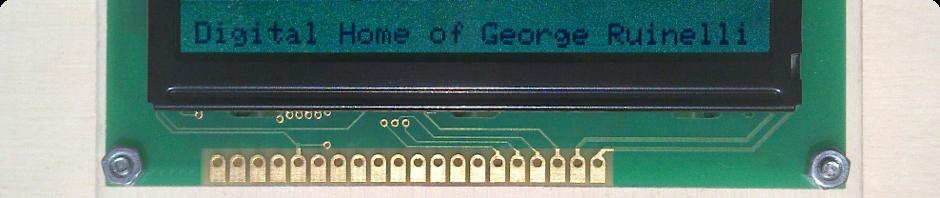Digital home of George Ruinelli